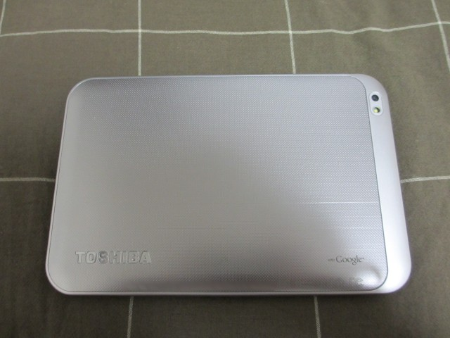 REGZA Tablet AT570 背面